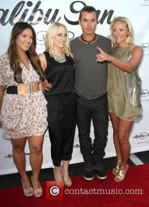 Gavin Rossdale and guests The world famous Malibu Inn's private grand opening celebration at The Malibu Inn - Inside Arrivals...