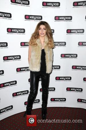 Nicola Roberts at the Manchester City Centre Christmas lights switch on. Manchester, England - 10.11.11