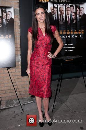 Demi Moore  'Margin Call' New York Premiere  New York CIty, USA - 17.10.11