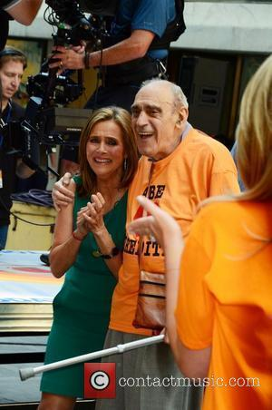 Meredith Vieira and Yogi Berra Meredith Vieira's last day at Rockefeller Center as one of the hosts of NBC's 'Today'...