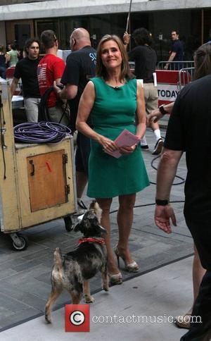 Meredith Vieira and her dog Jasper The 'Today Show' salutes Meredith Vieira's Last Day with NBC Network New York City,...