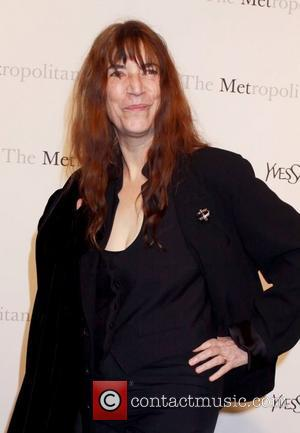 Patti Smith Metropolitan Opera gala premiere of 'Rossini's Le Comte Ory' - Inside Arrivals New York City, USA - 24.03.11