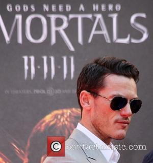 Luke Evans at the Hand and Footprint Ceremony outside Grauman's Chinese Theatre Los Angeles, California - 31.10.11