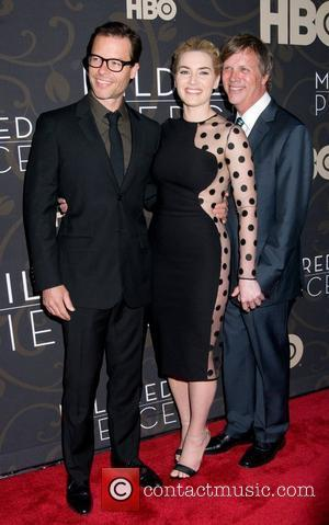 Guy Pearce, Kate Winslet and Todd Haynes The New York Premiere of 'Mildred Pierce' - Arrivals New York City, USA...