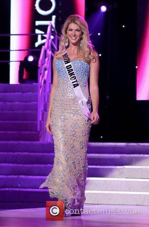 Miss North Dakota USA Brandi Schoenberg  2011 Miss USA Preliminary Competition at The Theater of Performing Arts at Planet...