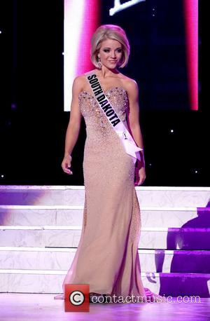 Miss South Dakota USA Chandra Burnham  2011 Miss USA Preliminary Competition at The Theater of Performing Arts at Planet...