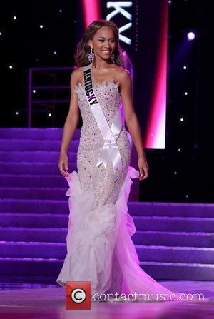 Miss Kentucky USA Kia Hampton   2011 Miss USA Preliminary Competition at The Theater of Performing Arts at Planet...