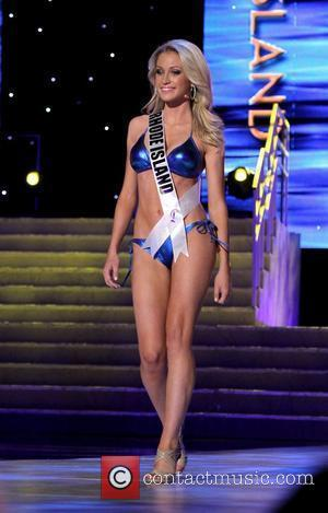 Miss Rhode Island USA Kate McCaughey   2011 Miss USA Preliminary Competition at The Theater of Performing Arts at...