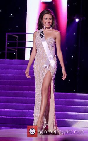 Miss Utah USA Jamie Lynn Crandall   2011 Miss USA Preliminary Competition at The Theater of Performing Arts at...
