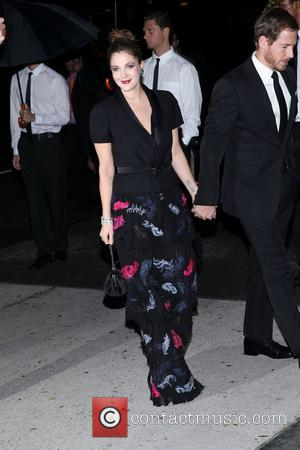 Drew Barrymore   The Museum of Modern Art Film Benefit 2011 - Outside Arrivals  New York City, USA...