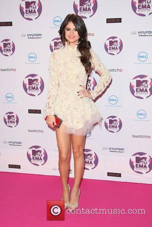 Gomez and Mtv European Music Awards