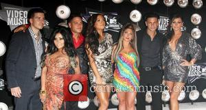 The cast of Jersey Shore 2011 MTV Video Music Awards held at LA Live - Arrivals Los Angeles, California -...