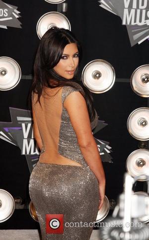 Kim Kardashian  2011 MTV Video Music Awards held at LA Live - Arrivals Los Angeles, California - 28.08.11