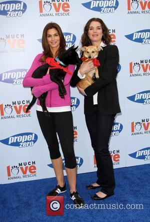 Cindy Crawford and Brooke Shields Propel Zero to 1000 Celebrity Dog Walking event hosted by Cindy Crawford, held at Church...