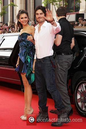 Ian Somerhalder and Nina Dobrev 22nd Annual MuchMusic Video Awards - Arrivals Toronto, Canada - 19.06.11