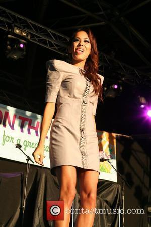 Jade Ewan of Sugababes 'Music On The Hill' charity concert, aiding Demelza Hospice Care for Children and The Children's Development...