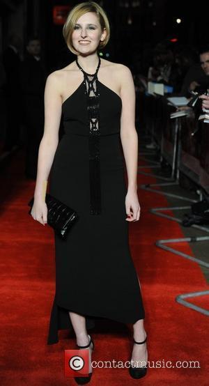 Laura Carmichael  'My Week with Marilyn' UK premiere held at the Cineworld Haymarket - Arrivals. London, England - 20.11.11