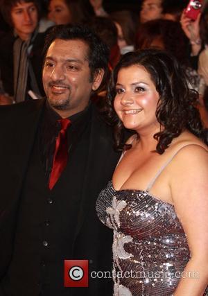 Nitin Ganatra and Nadia Wadia The National Television Awards 2011 (NTA's) held at the O2 centre - Arrivals London, England...