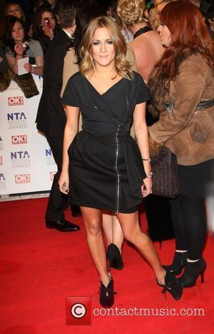 Caroline Flack The National Television Awards 2011 (NTA's) held at the O2 centre - Arrivals London, England - 26.01.11