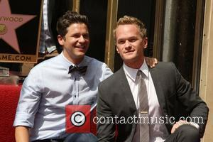 Neil Patrick Harris, David Burtka and Walk Of Fame