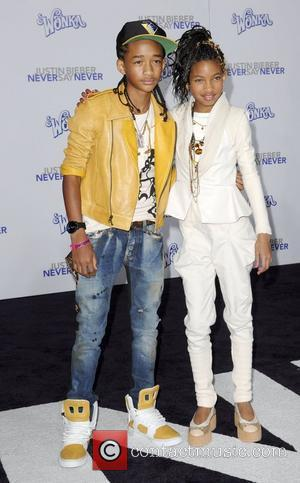 Jaden Smith and Willow Smith Los Angeles Premiere of Justin Bieber: Never Say Never held at Nokia Theatre L.A. Live...
