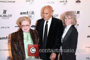 Harry Belafonte and wife Pamela Belafonte AmFar's New York Gala 2011 ahead of Mercedes-Benz Fashion Week, held at Cipriani Wall...