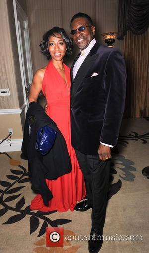 Deon David and Keith David  The Norby Walters 21st Night of 100 Stars Awards Gala held at Beverly Hills...