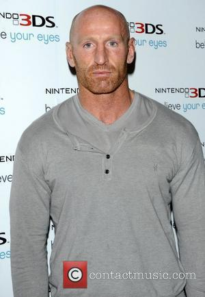 Gareth Thomas launch of 'Nintendo 3DS' at Old Billingsgate Market - Arrivals London, England - 24.03.11