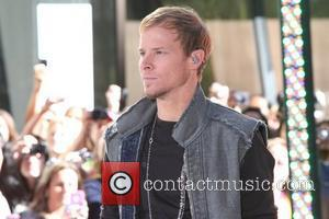 Brian Littrell New Kids On The Block and Backstreet Boys perform live on on NBC's 'Today'  New York City,...