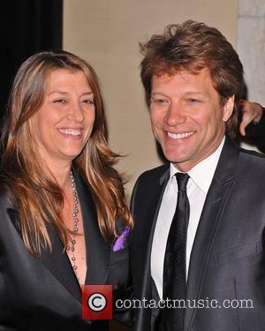 Dorothea Hurley and Jon Bon Jovi New York City Police Foundation 40th Anniversary Gala - Inside New York City, USA...