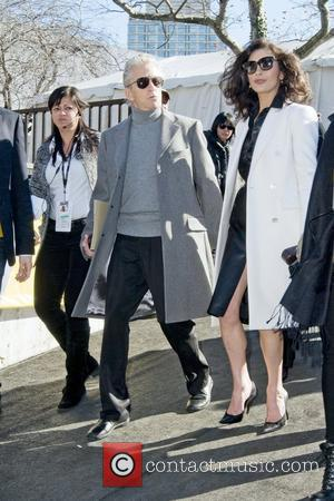 Michael Douglas and Catherine Zeta-Jones Mercedes-Benz IMG New York Fashion Week Fall 2011 - Celebrities out and about at Lincoln...