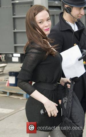 Rose McGowan,  Mercedes-Benz IMG New York Fashion Week Fall 2011 - Outside Arrivals New York City, USA - 13.02.11