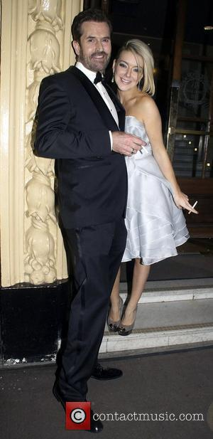 Sheridan Smith And Rupert Everett ,  at the 2011 Olivier Awards - After Party at the Waldorf Hotel -...