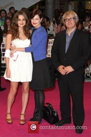 Elizabeth McGovern, with husband Simon Curtis and daughter One Day - UK film premiere held at the Vue Westfield -...