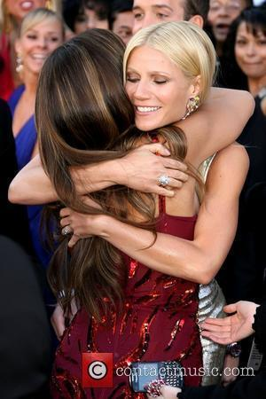 Penelope Cruz hugging Gwyneth Paltrow 83rd Annual Academy Awards (Oscars) held at the Kodak Theatre - Arrivals Los Angeles, California...
