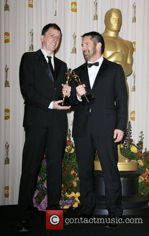 Trent Reznor and Atticus Ross 83rd Annual Academy Awards (Oscars) held at the Kodak Theatre - Press Room Los Angeles,...