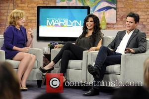Marilyn Denis, Marie Osmond and Donny Osmond  appearing on CTV's 'Marilyn Denis Show'  Toronto, Canada - 12.07.11