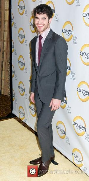 Darren Criss Oxygen Upfront presentation at the Gotham Hall - Arrivals New York City, USA - 04.04.11