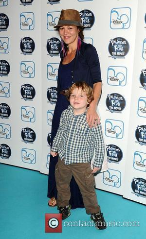 Helen McCrory The UK premiere of Disney's Phineas and Ferb: Across 2nd Dimension at Apollo Piccadilly Circus London, England -...