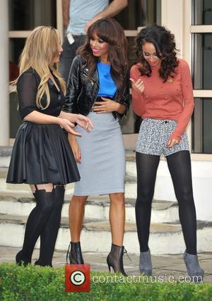 Heidi Range, Jade Ewen and Amelle Berrabah of the Sugababes Pop Goes The Musical - press launch held at The...