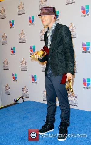 Prince Royce  Univision's Premio Lo Nuestro a La Musica Latina Awards at American Airlines Arena  Miami Florida, USA...
