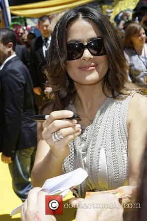 Salma Hayek To Be Knighted In France