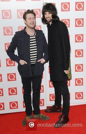 Tom Meighan and Sergio Pizzorno of Kasabian  The Q Awards 2011  London, England - 24.10.11