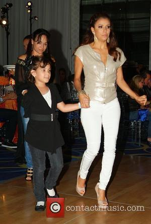 Eva Longoria  Rally for Kids with Cancer Scavenger Cup - The Winners Circle Gala Dinner at Eden Roc a...