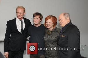 Anders Cato, Haley Joel Osment, Sara Garonzik and Stephen Rowe Opening of 'Red' at Suzanne Roberts Theater Philadelphia, Pennsylvania -...