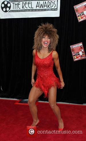 Samira as TINA TURNER THE REEL AWARDS - A Star-Studded Show Featuring Award-Winning Impersonators held at Golden Nugget Hotel and...