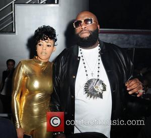 Keyshia Dior and Rick Ross  Rick Ross and Stevie J's birthday party at Club Play Miami Beach, Florida -...