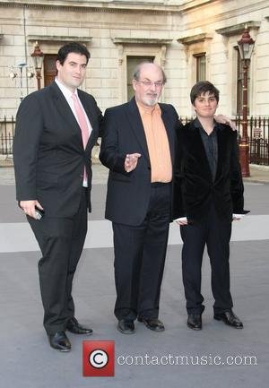 Salman Rushdie with his sons Royal Academy Summer Exhibition 2011 - VIP private view held at the Royal Academy Of...