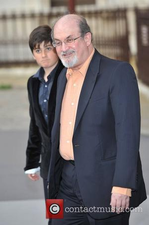 Salman Rushdie and guest Royal Academy Summer Exhibition 2011 - VIP private view held at the Royal Academy Of Arts...