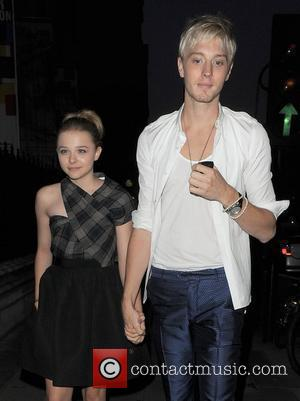 Chloe Moretz and her brother Trevor Moretz Royal Academy Summer Exhibition 2011 - VIP private view held at the Royal...